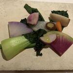 リストランテ イル バンビナッチョ - 野菜塩麹のソース