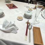 Shisentoufahansou - テーブルセッティング
