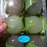 和菓子処 ふじ - 冷蔵庫で冷やして食べると美味しい水まんじゅう 今年の夏も食べたかった…
