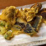 三河屋 - 天ぷら 野菜天