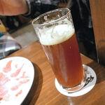 ビストロ酒場 クラフト×クラフト - ベアードブルーイング(静岡) アイボリーボーイブラウンビール