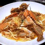 ビストロ酒場 クラフト×クラフト - 渡り蟹のトマトパスタ