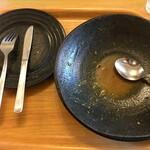 スープカレーハウスしっぽ - その他写真:完食完飲!カレーは飲み物(笑)