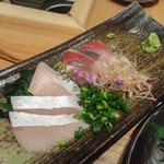 地方の肴とおもてなし 「庵」 - ぶり刺身