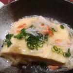 地方の肴とおもてなし 「庵」 - 出汁巻たまご カニあんかけ