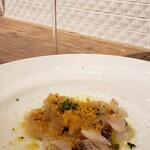 バルカ - カマスの炙りカルパッチョ