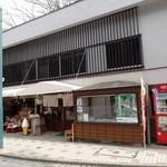 高松屋 - ケーブルカーの清滝駅前にあります。