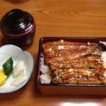 川福 - 料理写真:うな重二段重ね