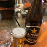 ぼてふく - 瓶ビール