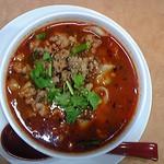 西安刀削麺 - 爽やかな辛さが癖になる 麻辣刀削麺(マーラーとうしょうめん)
