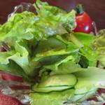 カフェセラード - 新鮮なサラダです