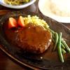 グッドバーグ - 料理写真:デミハンバーグセット