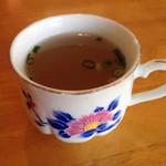 チョウタリ - スープ