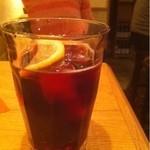 西荻バル - 赤ワイン+コーラ