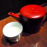 真希 - 蕎麦湯