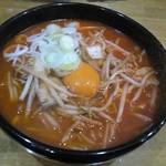 麺屋 清兵衛 - キムチ納豆ラーメン(味噌)