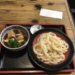 府中 武蔵野うどん - 肉うどんもり950円