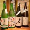 ウオバル - ドリンク写真:季節の日本酒を含む全14種類