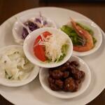 青山シャンウェイ - 冷菜5種盛り合わせ