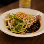 青山シャンウェイ - 柔らか雛鶏の葱醤油