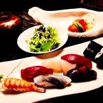 蛇の目寿司 - 料理写真:ランチB