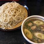 足立製麺所 - 料理写真:大鴨せいろ蕎麦800円