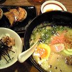 1231308 - 本店限定「かさね味」¥900+昼セット¥100