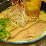 らー麺 もぐや - 豆乳生姜麺グリーンカレーヴァージョン