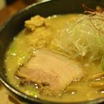 らー麺 もぐや - 葛飾ネギとんこつ~塩ときどき醤油のち味噌~