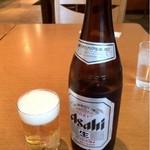 中国料理 百楽 - ビールはアサヒスーパードライ