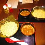 ほそ川 - 2人のつけ麺 850円(税込)【2020年1月】