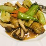 西遊記 - 牡蠣と青梗菜のオイスターソース炒め