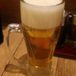 餃子酒場 たっちゃん - 生ビール
