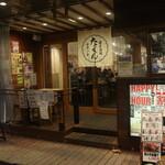 餃子酒場 たっちゃん - お店の入口