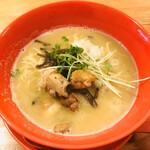 濃厚鶏白湯拉麺 乙 - 濃厚鶏白湯ラーメン 825円