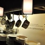 イタリアン クロス - 1階厨房