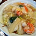 中華麺飯 太楼 - 五目海鮮ヤキソバ (840円)
