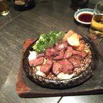 もつ福 - 牛ハラミステーキ