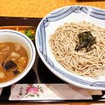 ふく福 - 黒豚つけ麺(そば)