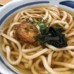 ふく福 - 小丼セット(うどん)