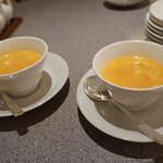 中国料理 南園 - フカヒレのかに玉スープ