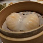 中国料理 南園 - 海老入り蒸し餃子