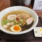 らぁめん&カレー 黒帯 - 料理写真:真髄(塩、880円)