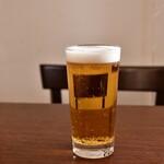 ファイヤーハウス - キリン一番搾り(生ビール)@590円