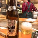 123125233 - お好み焼きにはビールだよね!