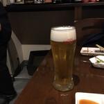 串かつ バラック - 生ビール