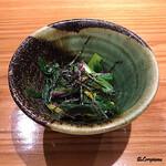 George - 菊菜と食用菊の御浸し