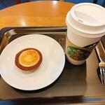 スターバックス・コーヒー - ホリデーチーズタルト・Gドリップコーヒー