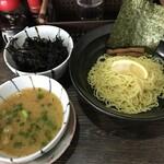武者道 - 料理写真:塩つけ麺 並+岩のり