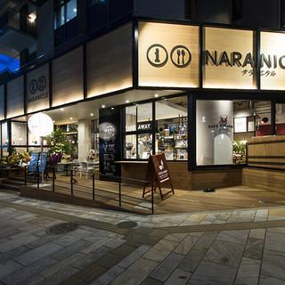 観光センター『ナラニクル』の中にあるレストランカフェです☆